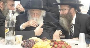 """הרב דרוק עם מרן הגר""""ח קנייבסקי"""