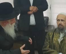 המפגש בין הרבנים