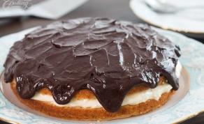 לשבת בבוקר. עוגת קרם מפנקת בסגנון בוסטון - לשבת בבוקר: עוגת קרם מפנקת בסגנון בוסטון
