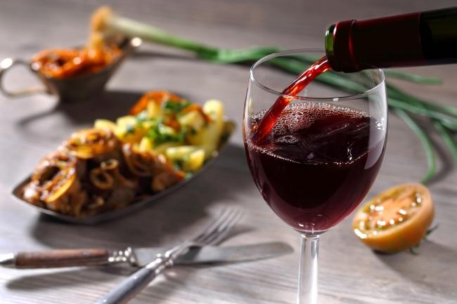שילובים של יין לסעודה, אילוסטרציה