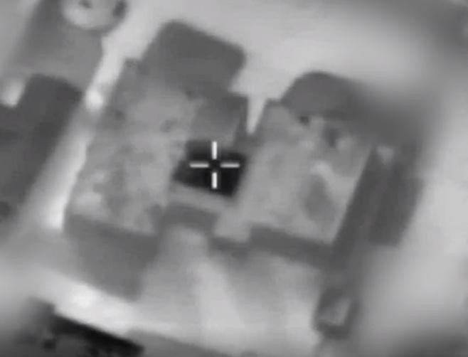 תיעוד ממטוס הקרב: כך הופל מבנה חמאס