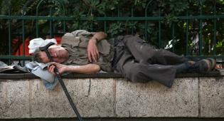 הומלס חסר בית עוני עני