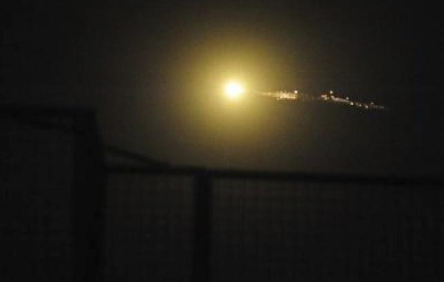 התקיפה סוריה, הלילה