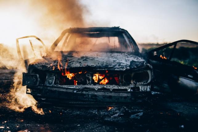 המתנדב זיהה רכב בוער ובתוכו גופת אדם