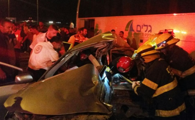 אחים תאומים נהרגו בתאונת שרשרת בנגב