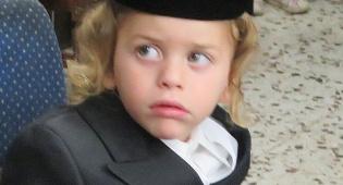 """ילד החלאקה - חלאקה לנכד האדמו""""ר מקרעטשניף • תיעוד"""
