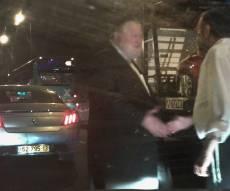 """הפגישה של ח""""כ משה גפני ולייבל וולדמן - היזם פגש ח""""כ בכביש וטען: מונטג לא קשור"""