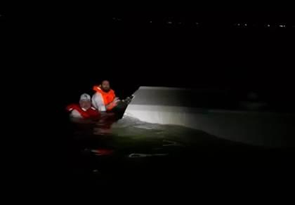 הנעדרים הלילה, בשעת החילוץ