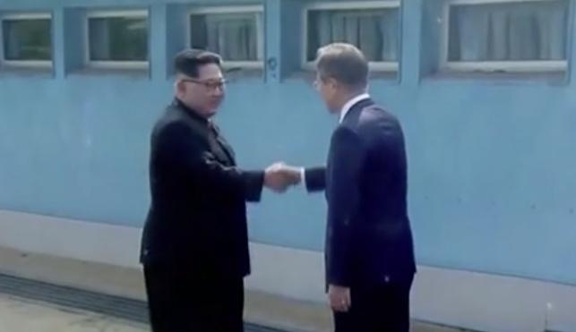 שני המנהיגים נפגשים לראשונה