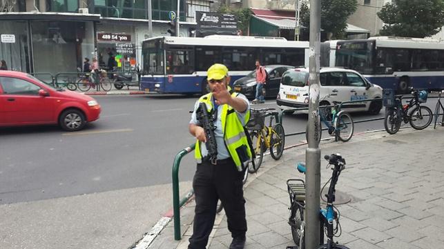 כוחות משטרה בתל אביב, היום