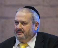 מהפך בירושלים? ה'פלג הירושלמי' יריץ את חיים אפשטיין