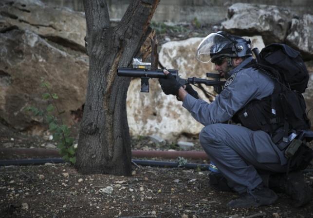 שוטר בירושלים. אילוסטרציה