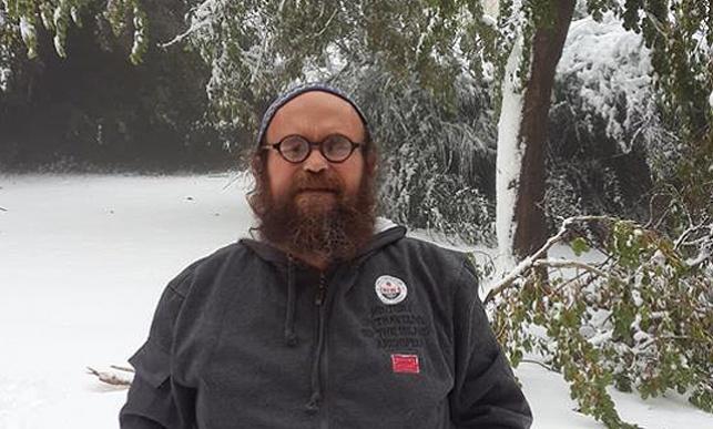 אהרון גרנות בשלג