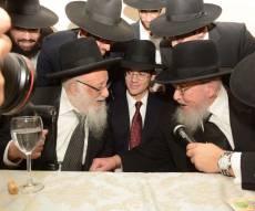 אירוסי בנו של ישראל קלרמן. צפו בגלריה