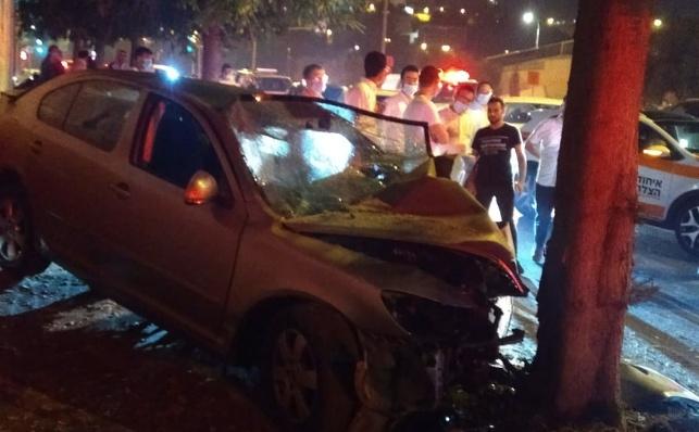 בחור ישיבה נפצע קשה בתאונת דרכים בי-ם
