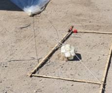 """בלון עם מתקן נפץ מעזה פוצץ באזה""""ת ערד"""