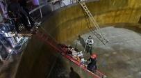 פועל נפל 5 מטרים בתוך מפעל הכימיקלים