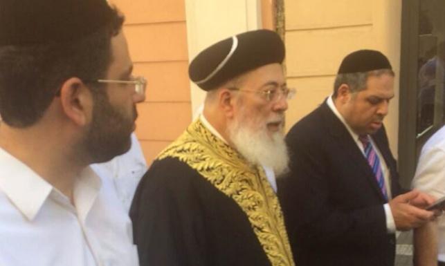 צפו: רבה של ירושלים במסע לפראג