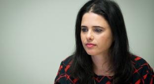 שרת המשפטים איילת שקד. ארכיון - שקד: גוגל ופייסבוק מבינות שאין מקום לטרור