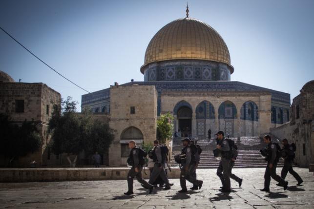 שוב: צעיר קרא בהר הבית 'מוחמד חזיר' ונעצר