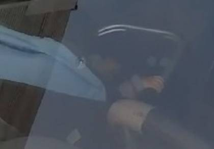 התינוק בתוך הרכב