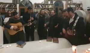 """לראשונה: סיום הש""""ס בציון סנגורן של ישראל"""