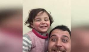הילדה שצחקה מההפצצות - ברחה מסוריה