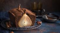 עוגת אגסים מקמח כוסמין