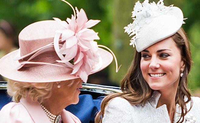 קייט מידלטון ומלכת אנגליה