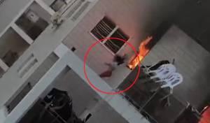 קפיצת ילדה מתוך הבית הבוער - האשם בשריפה בבאר שבע: 'הגורם האנושי'