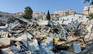 """לפני פתיחת שנה""""ל: עיריית ירושלים פירקה מבנים של ת""""ת"""