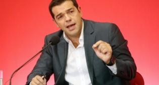 ראש ממשלת יוון אלכסיס ציפרס