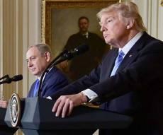"""טראמפ: """"שתי מדינות או  מדינה אחת? מה שהצדדים ירצו"""""""