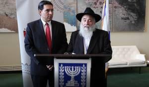 """השליח שניצל מפיגוע באו""""ם: עם ישראל חי"""