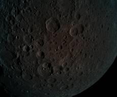 הירח כפי שנראה מהחללית בראשית