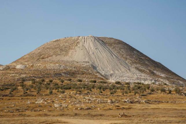 הר ההרודיון במדבר יהודה