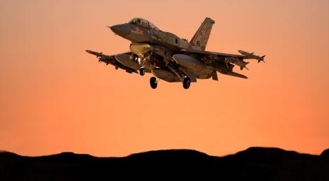 """מטוס קרב של חיל האוויר - צה""""ל: מטוסי קרב תקפו בגבול עזה - מצרים"""