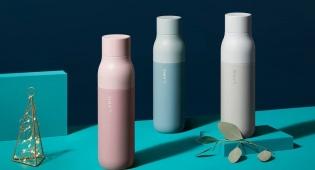 חדש על המדף: בקבוק עם מנגנון ניקוי עצמי