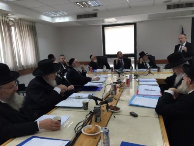 הדיון במועצת הרבנות הראשית, אתמול