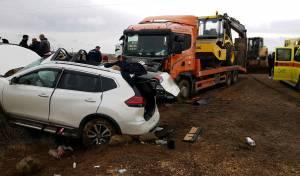 זירת התאונה הקטלנית