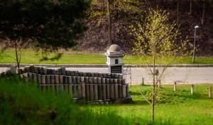 הריסות בית קברות יהודי בוילנה. אילוסטרציה