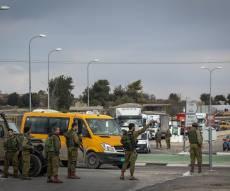 זירת הפיגוע ב'צומת הגוש'