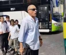 אירוע חריג: נהג האוטובוס איים עם M-16