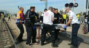 תאונה על פסי הרכבת, ארכיון - שוב תאונה ברכבת: אדם נהרג על המסילות