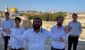 גיל אשר וחברים במחרוזת ווקאלית לירושלים