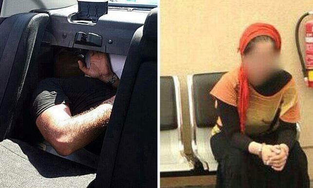 הערבייה שנעצרה והפלסטינים ברכב