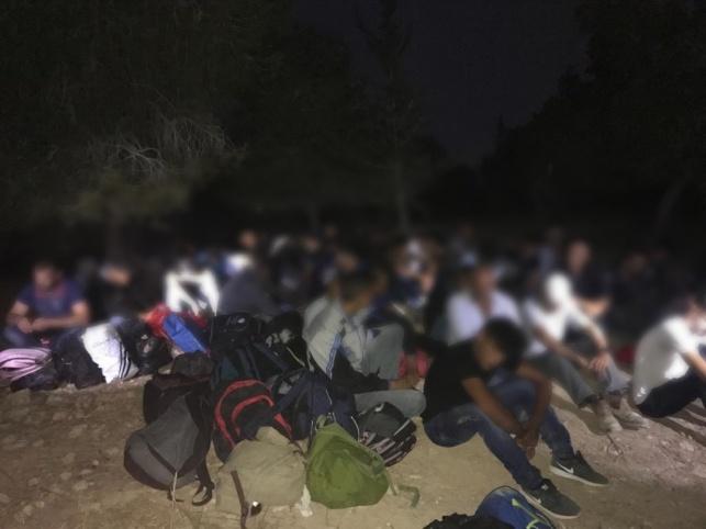 חלק מהפלסטינים שנתפסו