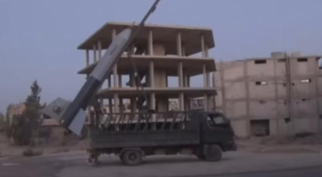 המורדים בסוריה שיגרו רקטה עצמית • צפו