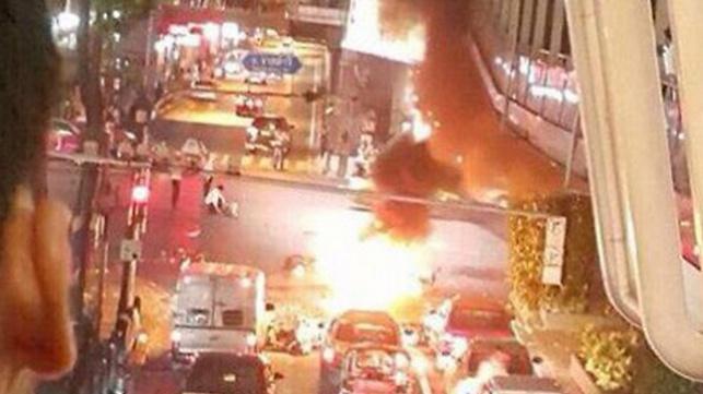 16 הרוגים ועשרות פצועים בפיגוע בנגקוק
