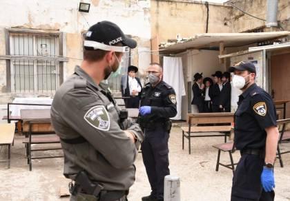 פעילות המשטרה בבני ברק, היום